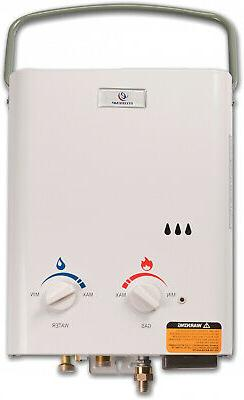 Tankless Water Heater Outdoor Camping H2O Warmer with Shower