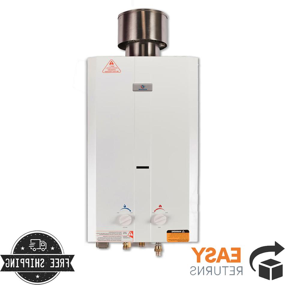 tankless water heater portable liquid propane outdoor