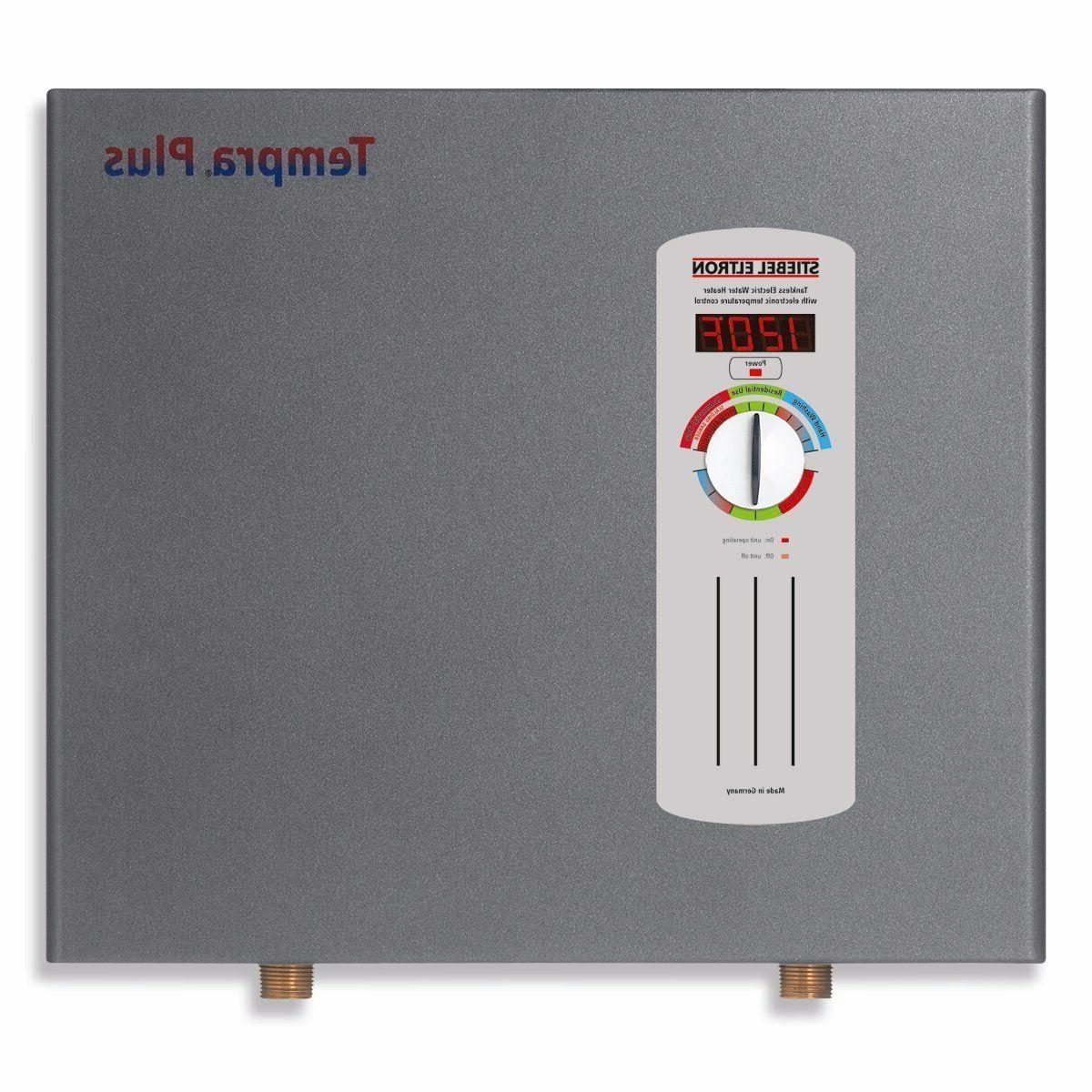 Stiebel 36 kW, tankless water with Self-Modulating Power & Flow Control