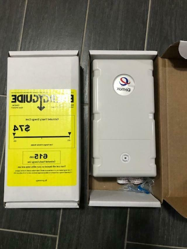 two new spex4277 tankless water heater