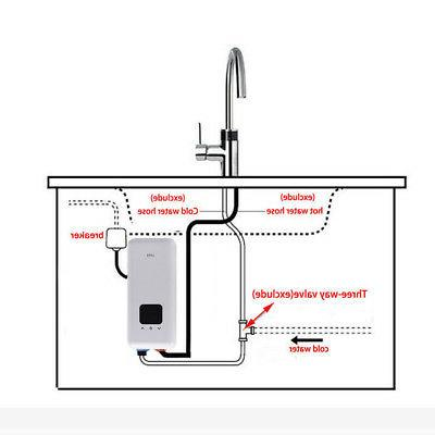 Power Levels Hot Tankless Head For Bathroom