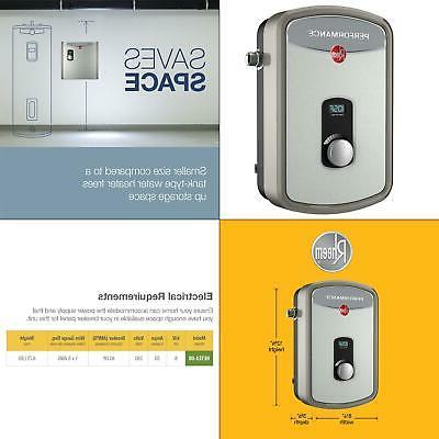 water heater tankless electric wall mount indoor