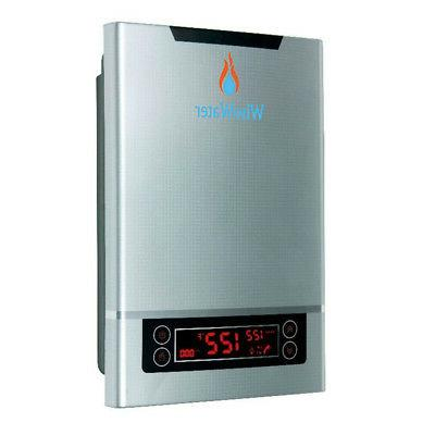 wisewater tankless electric water heater 240v 27kw