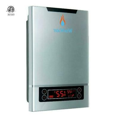 """WiseWater Tankless Heater 27kW 3/4"""" NPT Display"""