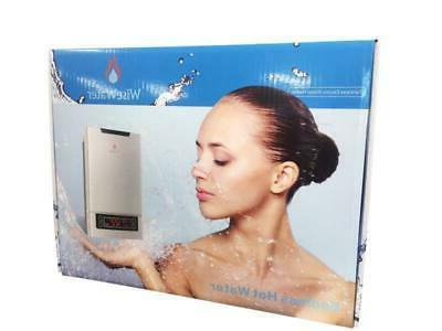 """WiseWater Electric Heater 240V 27kW 3/4"""" NPT LED"""