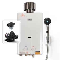 Eccotemp L10 Portable Tankless Water Heater w/EccoFlo Pump,