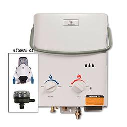 Eccotemp L5 Tankless Water Heater w/EccoFlo Pump & Strainer