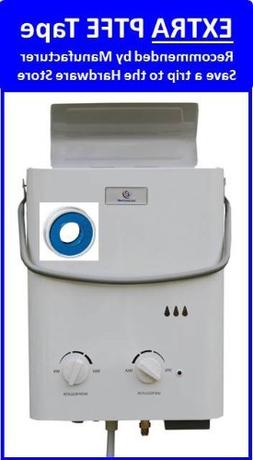 Eccotemp L5 Portable Tankless Water Heater and Outdoor Showe