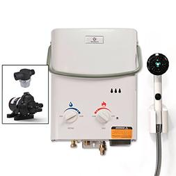 Eccotemp L5 Tankless Water Heater with EccoFlo Pump and Free