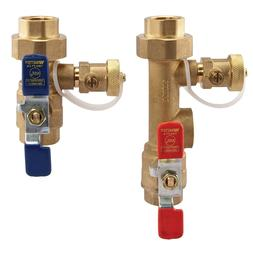 Tankless Water Heater Parts Service Valve Kit Home Plumbing