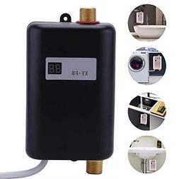 ALXDR Mini Water Heater, Electric Tankless 3.8KW Instant Hot