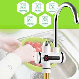 New 220V Electric Faucet Tap Water Heater Heat Instant Kitch
