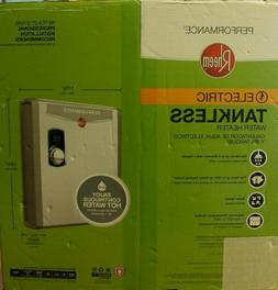 new electric tankless water heater 27kw retex