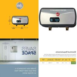 Performance 6 Kw 1.0 Gpm Point Of Use Electric Tankless Wate