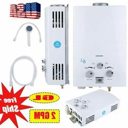 Portable LPG Propane Gas 6L Hot Water Heater Tankless Instan