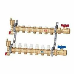Caleffi Pre-assembled Distribution Manifold Assembly, 9 Outl