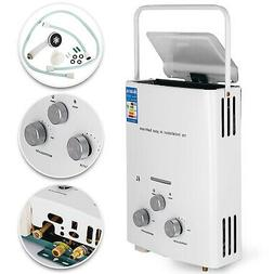 Tankless Hot Water Heater Propane Gas LPG 1.6 GPM Outdoor RV