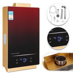 Tankless Hot Water Heater 12L Natural Gas Touch Screen Power