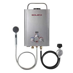 Tankless Water Heater, Gasland BE158S 1.58GPM 6L Outdoor Por