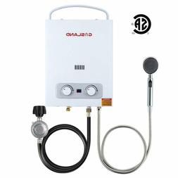 Tankless Water Heater, Gasland As150 1.5Gpm 6L Portable Prop