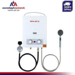 Tankless Water Heater, Gasland AS150 1.5GPM 6L Outdoor Porta