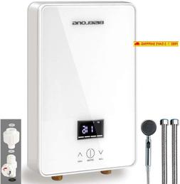 Tankless Water Heater Electric Hot Water Heater, Compact Siz
