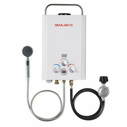Tankless Water Heater, Gasland BE158 1.58GPM 6L Outdoor Port